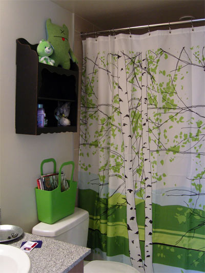 pocket shower curtain | Pottery Barn - Home Furnishings, Home