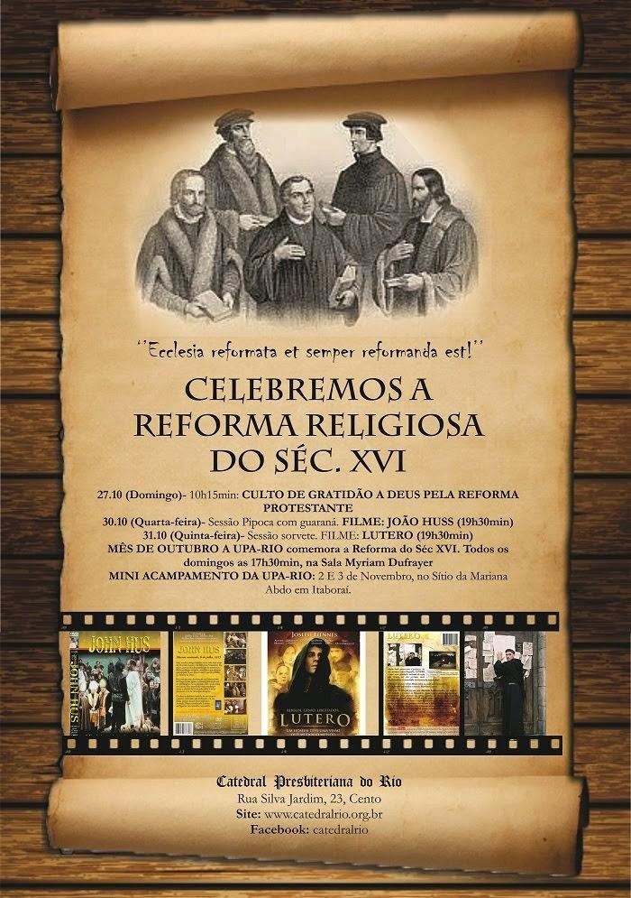 Celebrando a Reforma Cristã