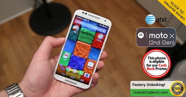 Factory Unlock Code for Moto X2