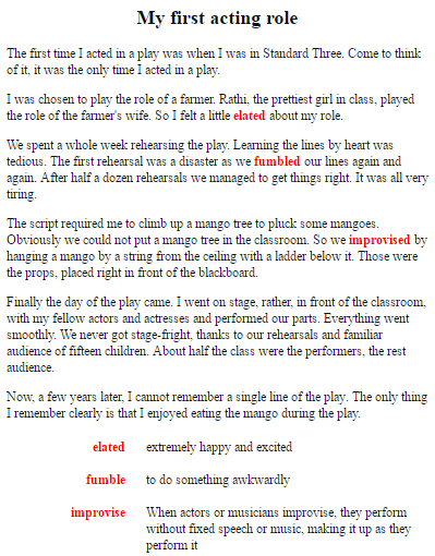 Concept essay example