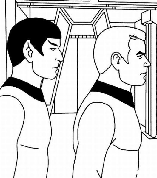 Star Trek Coloring Pages Coloring