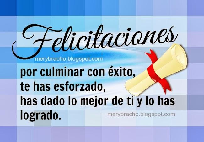 Frases De Felicitacion Para Graduacion