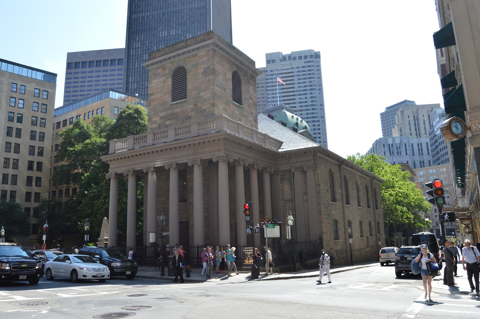 Boston, Freedom Trail, King's Chapel