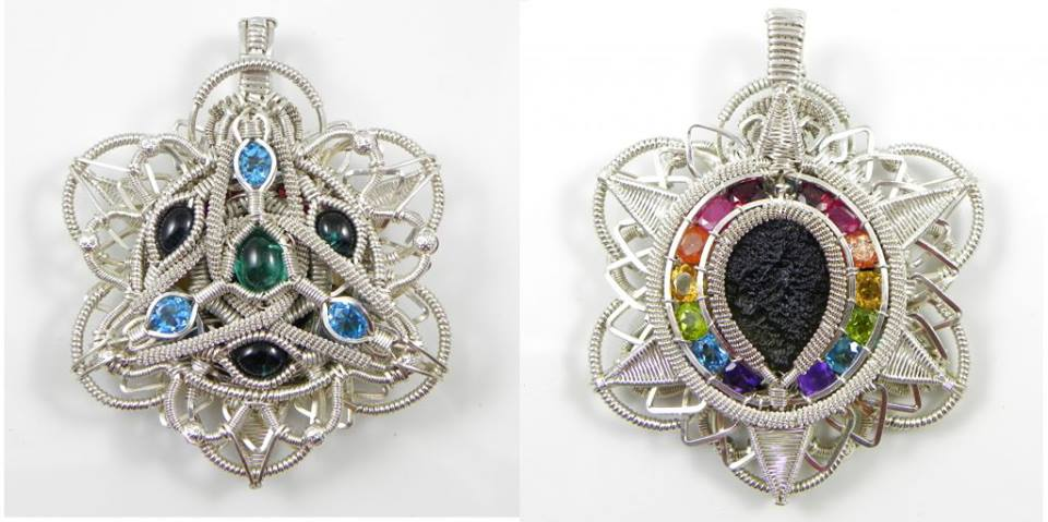Wire Wrapped Jewelry : Amazing wire wrapped jewelry by dreamers the