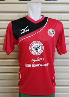 gambar detail jersey terbaru kota padang Jersey Semen Padang home Official terbaru musim 2015/2016 di enkosa sport toko online jersey bola terpercaya