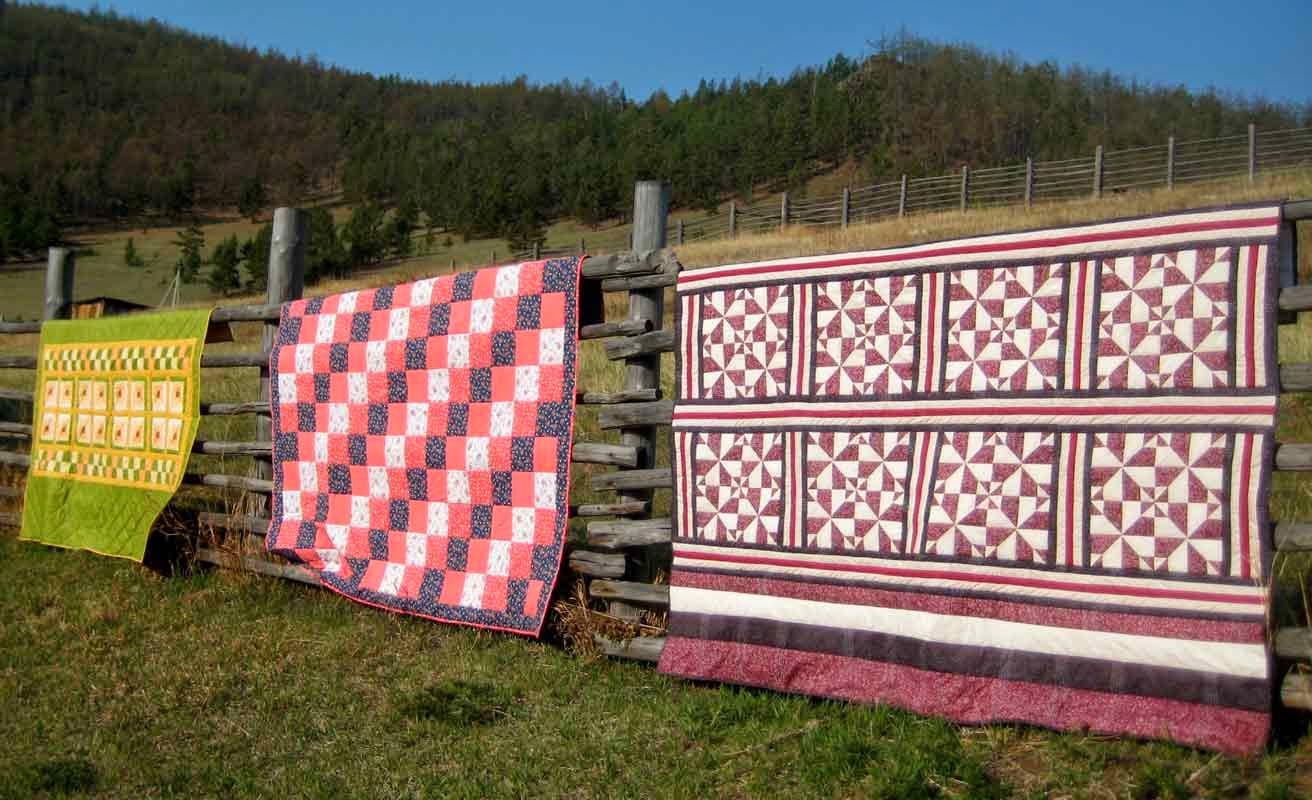 лоскутное одеяло фото