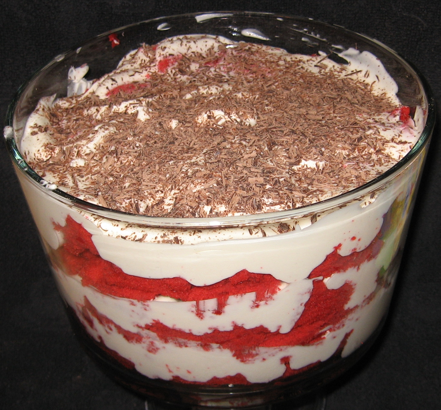 Too Blessed To Be Stressed: Red Velvet Trifle