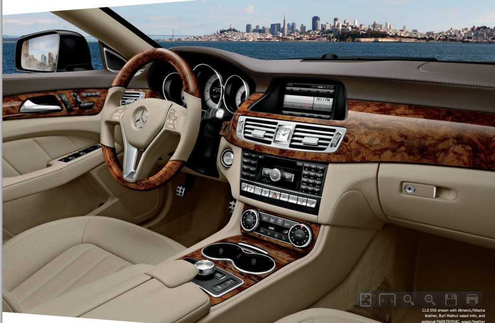 carspyphoto 2014 mercedes cls almond mocha leather interior. Black Bedroom Furniture Sets. Home Design Ideas