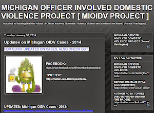 Michigan Officer Involved Domestic Violence
