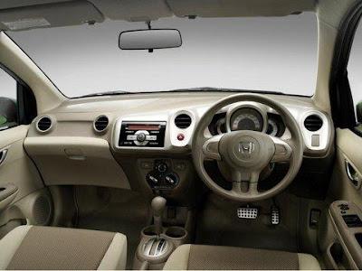Honda-Brio-Hactback-Interior