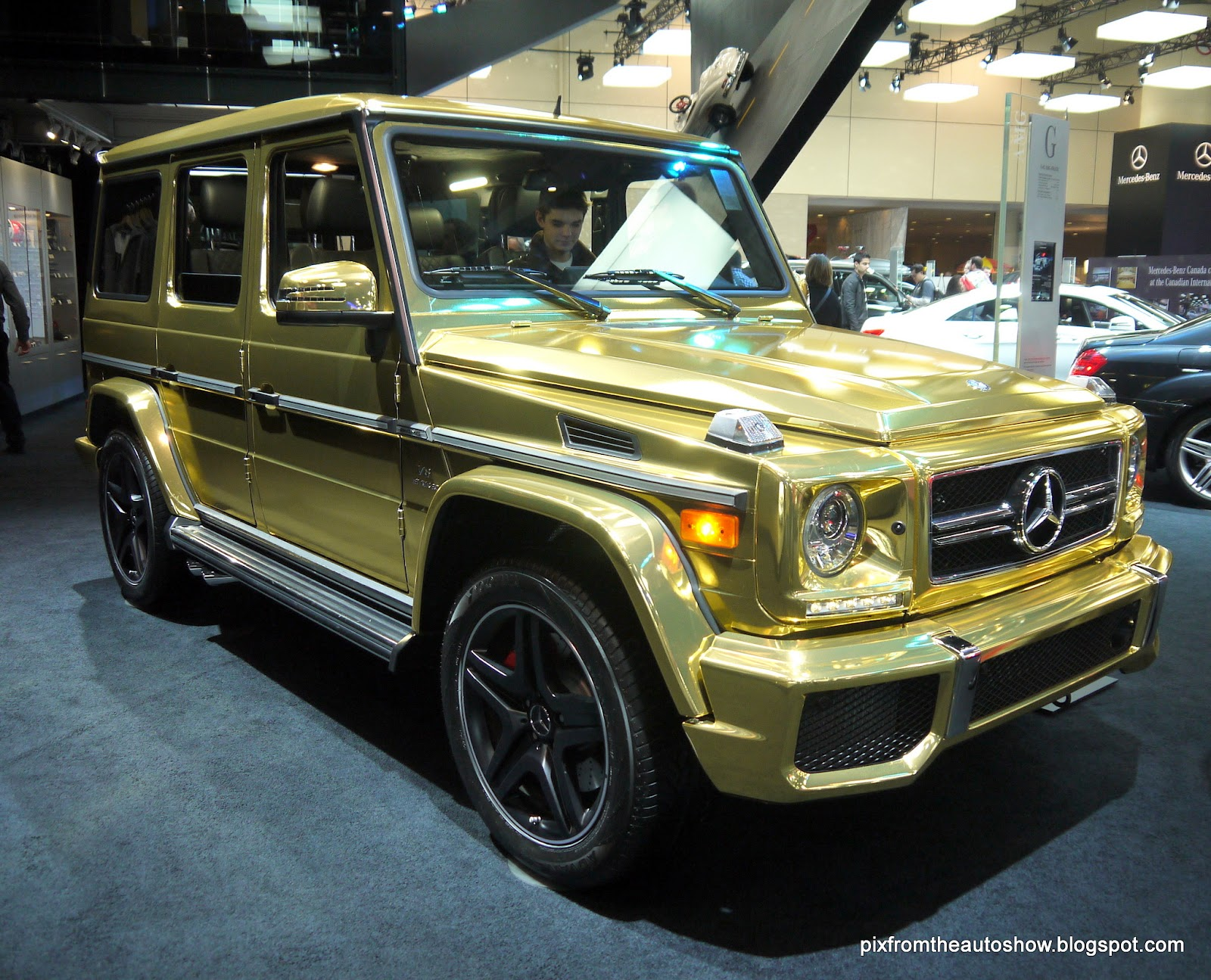 latest cars from around the world.: mercedes benz g class suv