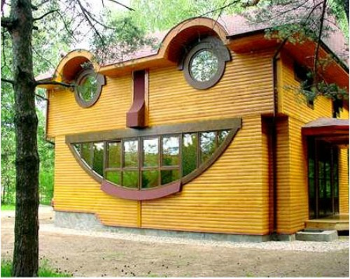 House That Looks Like a Face