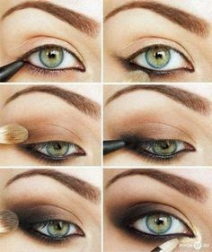 How to apply pencil eyeliner step by step pictures