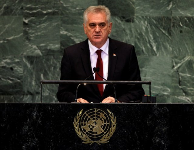 Republic of Serbia, President Mr. Tomislav Nikolic, UN General Assembly,Thematic Debate: Role of International Criminal Justice in Reconciliation