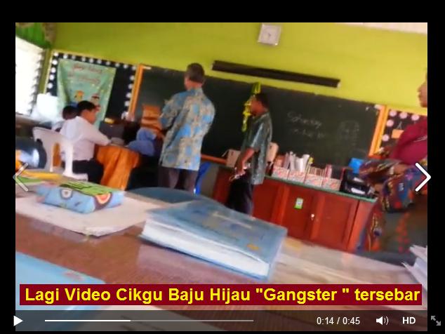 Memalukan Lagi Video Cikgu Gangster maki hamun pelajar tersebar