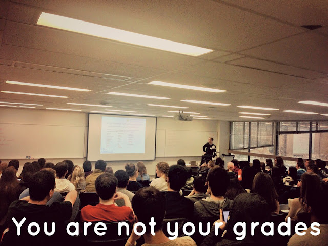 You are not your grades
