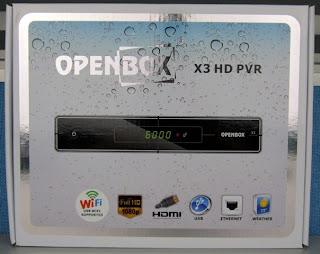 ATUALIZAÇAO OPENBOX X3 WIFI + LOADER 31/05/2012