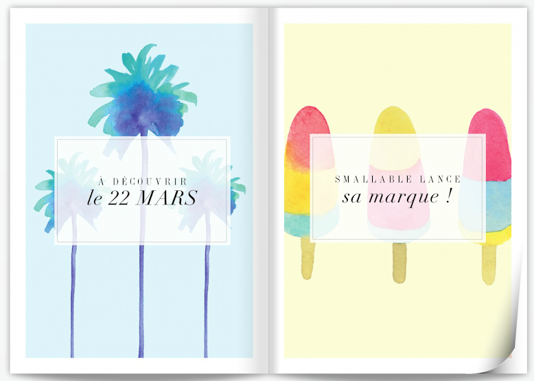 SMALLable LANCE SA MARQUE - MAGAZINE SMALLABLE PRINTEMPS 2013