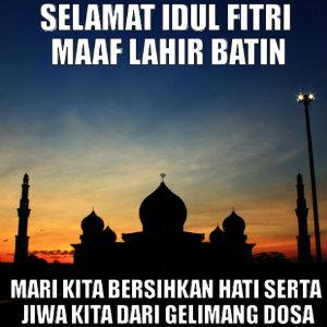 Ucapan Minal Aidin Wal Faidzin