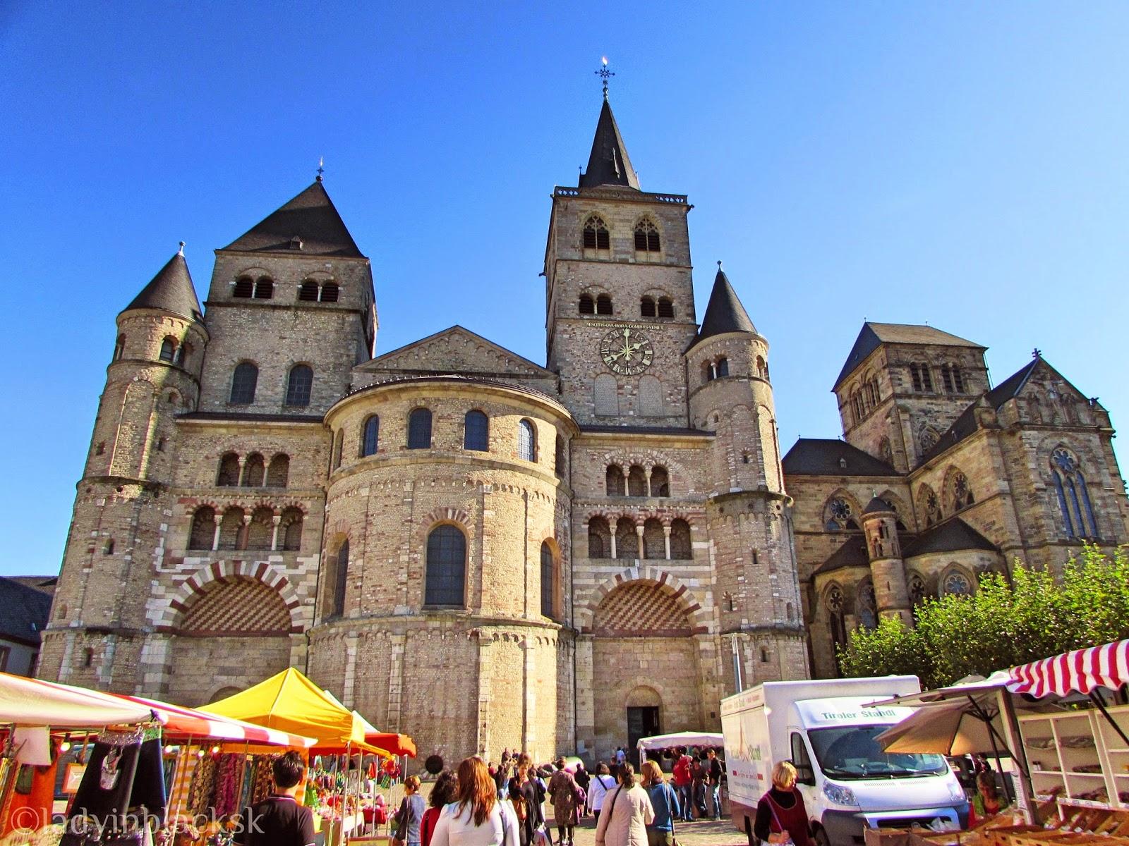 Len Trier in black trier the oldest city in germany