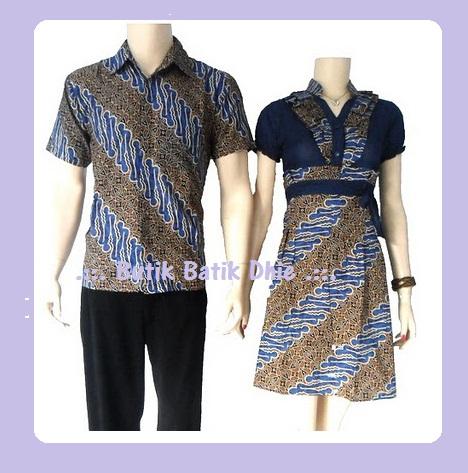 Butik Batik Dhie .::.: Sarimbit Dress Batik Solo Parang Keris Ayu Ting ...