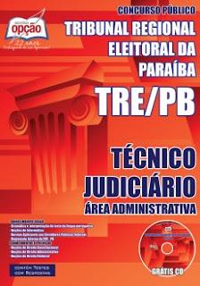 Apostila Completa TRE-PB Técnico Judiciário PDF