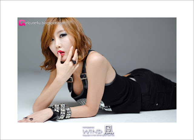 3 Choi Byeol Yee - Wow Black-very cute asian girl-girlcute4u.blogspot.com
