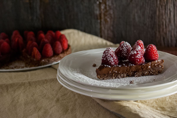 dessert, vegan chocolate ganache, raspberry dessert, vegan dessert ideas, gf chocolate dessert ideas, no bake dessert, chocolate tarts, a dash of delish