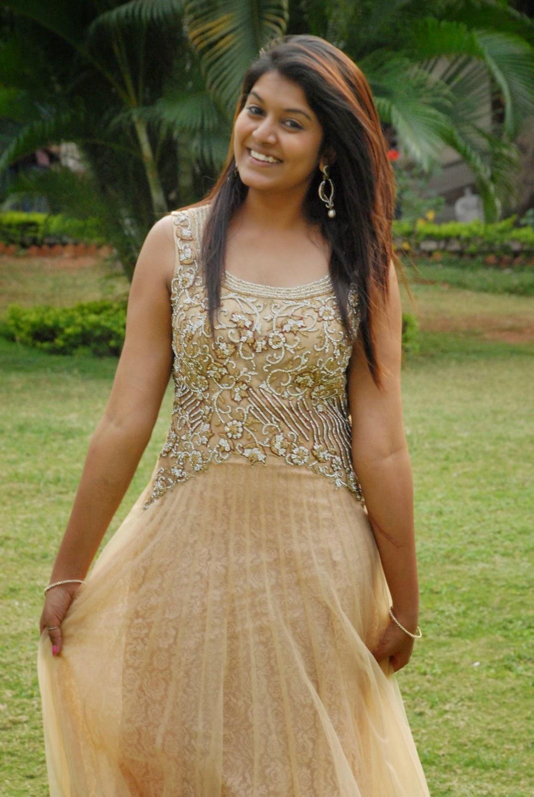 Kavya Kumar Latest Pics in Gown-HQ-Photo-19