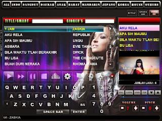 software tempat karaoke