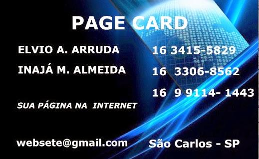 CARTÃO PÁGINA