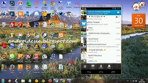 install bbm android di komputer, pc, laptop