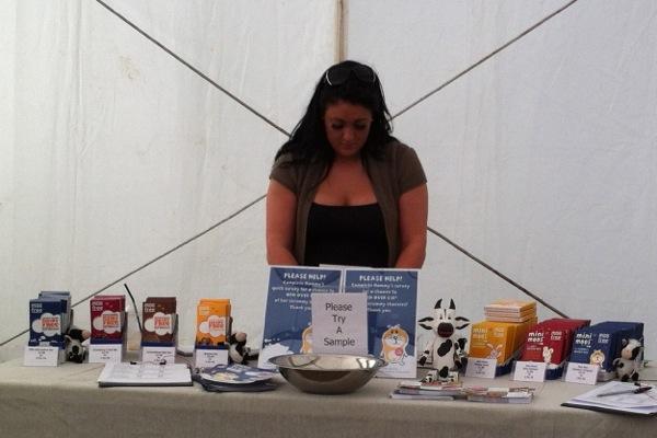 VegFest Bristol 2012 - stall - Moo Free