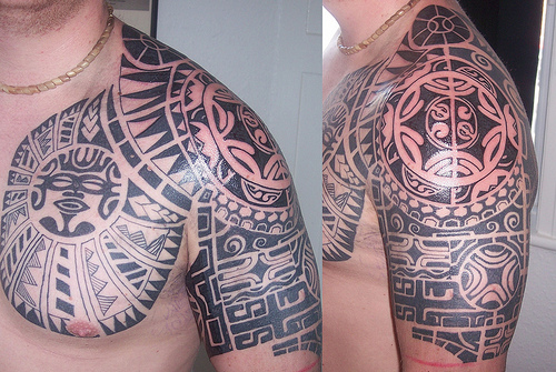 Tribal Tattoo Designs And Tribal Shoulder Tattoos