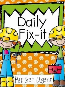 https://www.teacherspayteachers.com/Product/Daily-Fix-it-Capitalization-and-Punctuation-1683669