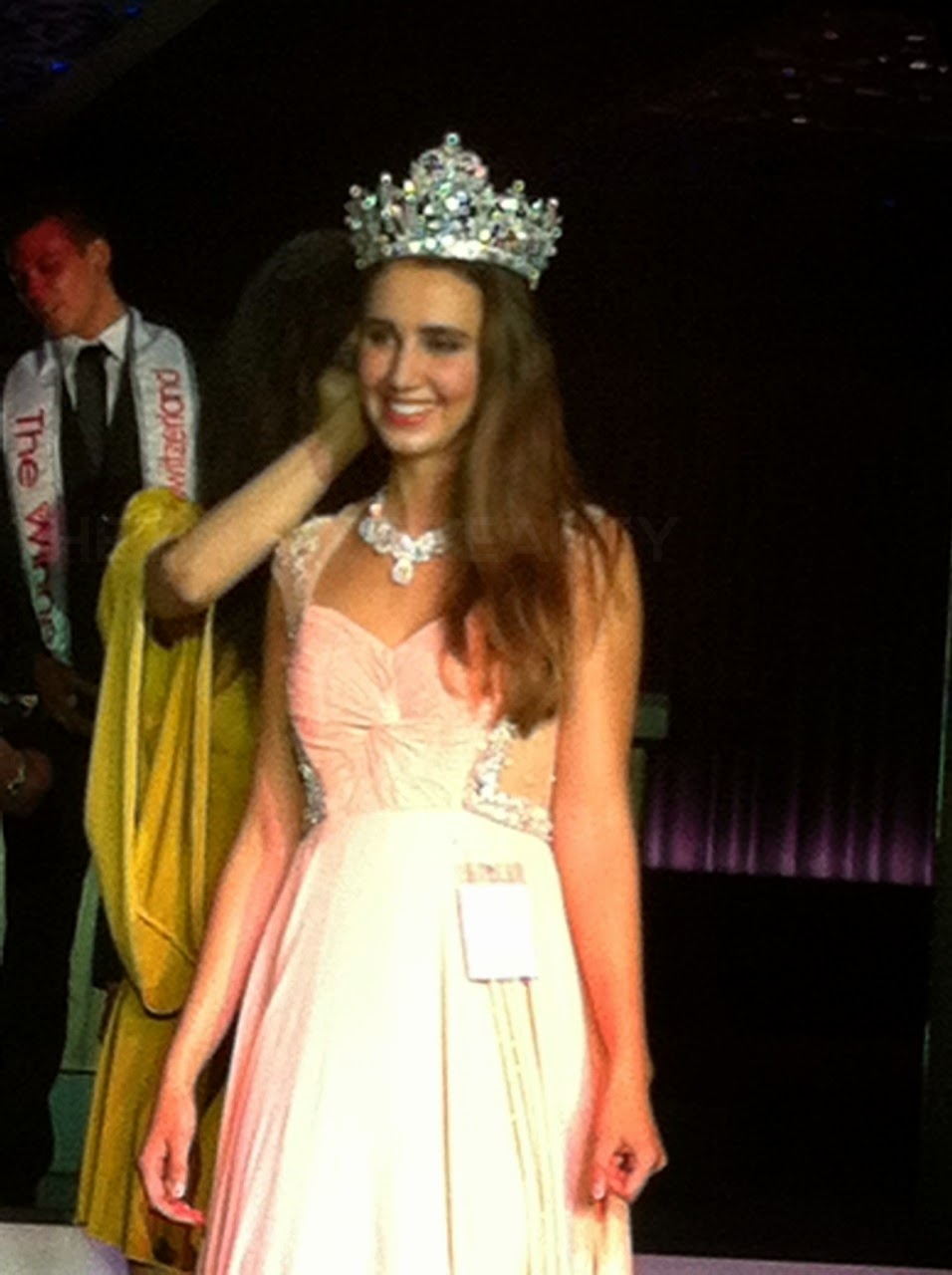 Miss World Switzerland 2014 winner Aline Morger