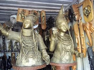 IGUN STREET ANCIENT BRONZE CASTING EDO STATE