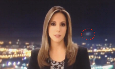 UFO Caught Live On The News Columbia 2015, UFO Sightings