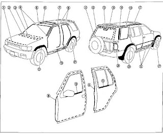 Land Rover Defender 90 110 127 130  plete 271570205368 in addition Jaguar 14 as well 1941 PLYMOUTH ALL MODELS 41 WIRING  26 FRAME CHART WITH DIMENSIONS DIAGRAM 3642BK 282495544459 furthermore How To Find Your Land Rover Engine together with Toyota Land Cruiser Fj55 1974 Wiring. on land rover all models