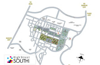 The Maridien at High Street South Block Location Map