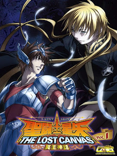 saint seiya the lost canvas primera temporada caballeros del zodiaco