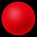 玉・ボールのイラスト(赤)