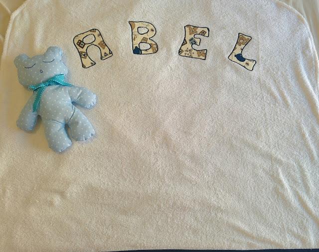 Arrullo artesanal y personalizado felpa de toalla
