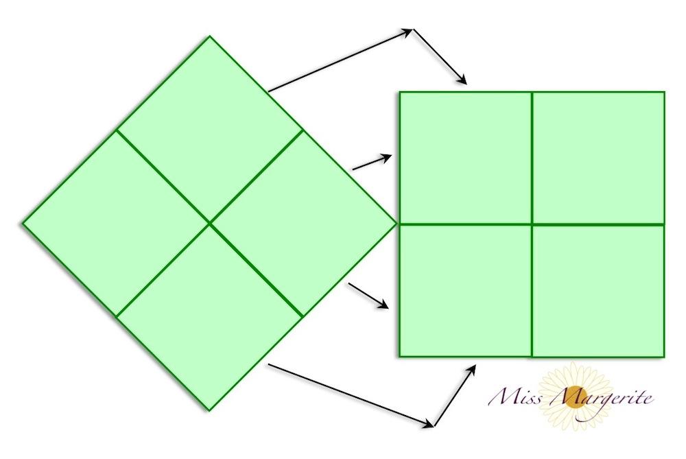 Kissen Mit Knopf In Der Mitte miss margerite quadratisch praktisch bunt