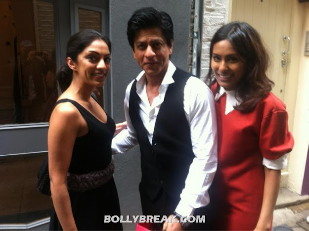 Shahrukh Khan london fan pics