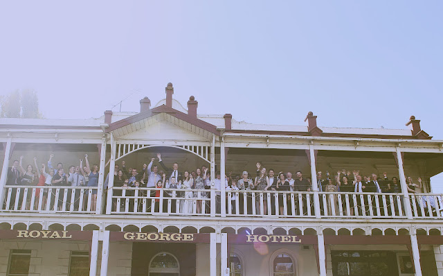 the royal george kyneton wedding
