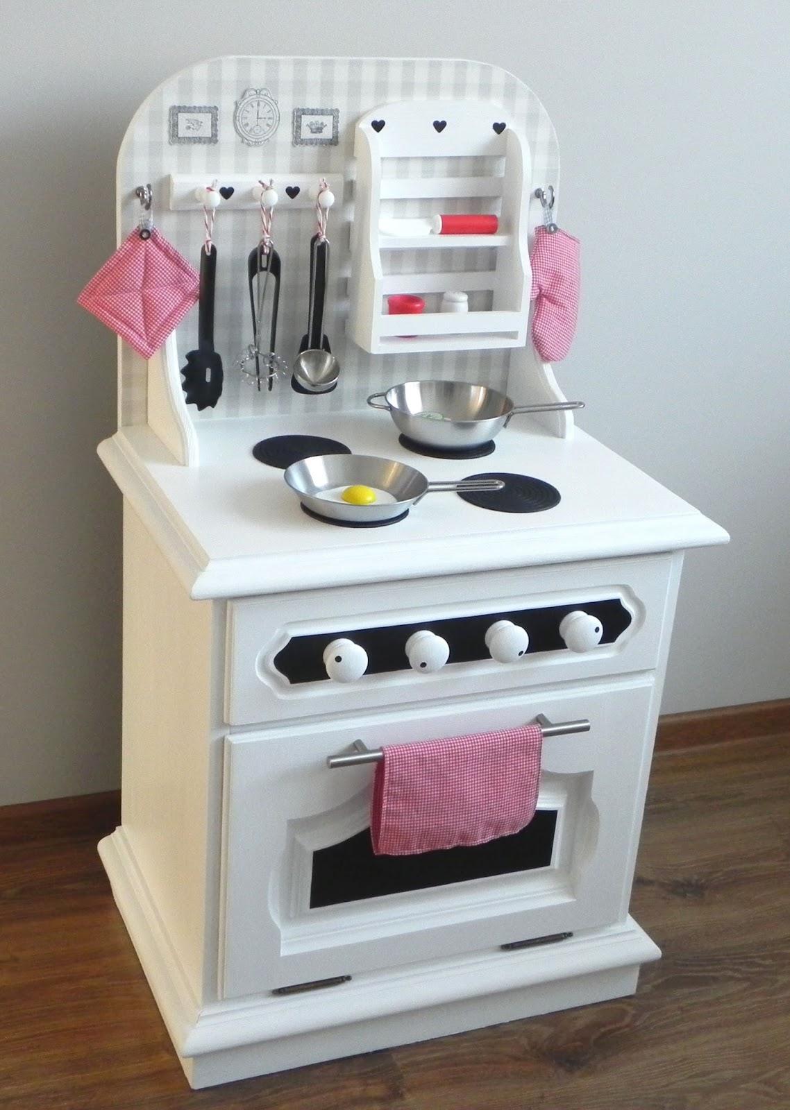 Magazyn Towarów Niemasowych Drewniana kuchnia dziecięca DIY -> Kuchnia Dla Dziecka Z Szafki