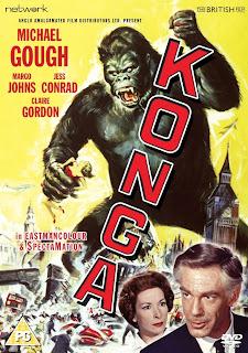 konga giant ape gorilla cult