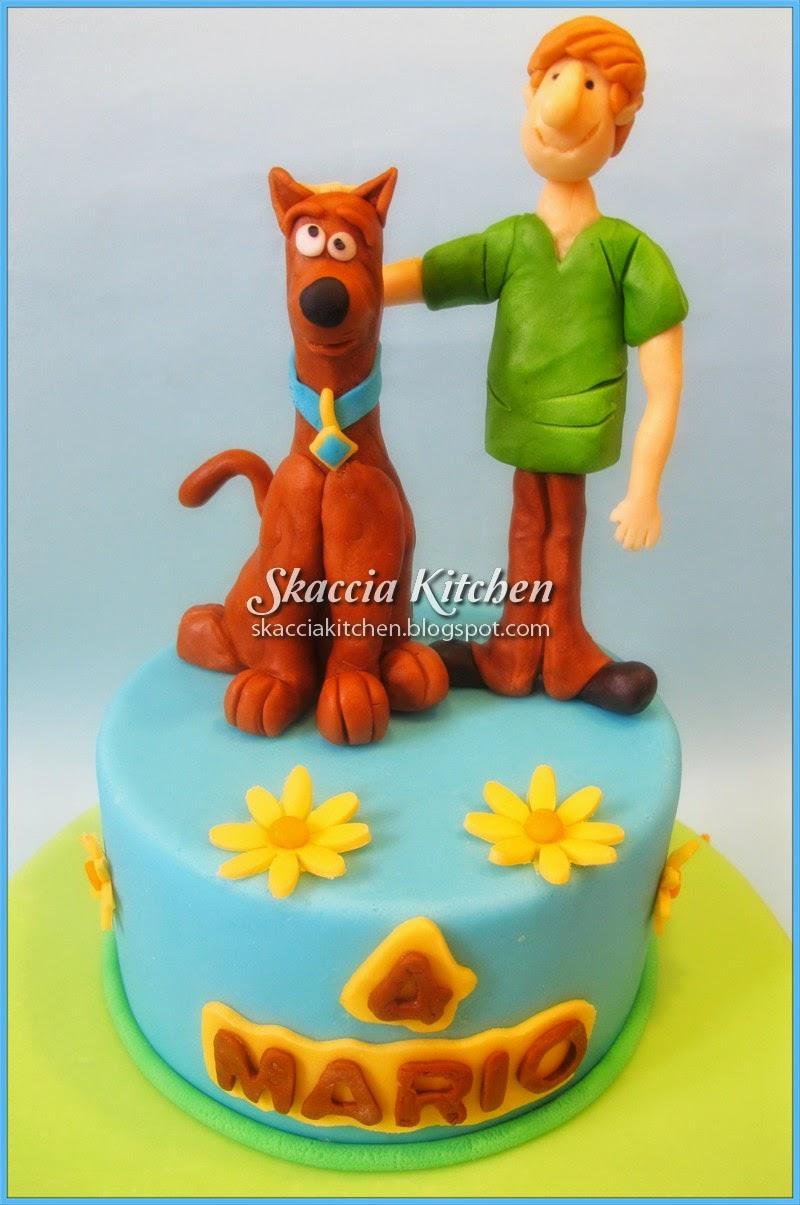 Scooby doo cake da skaccia kitchen su akkiapparicette