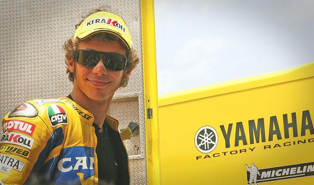Gambar 7 - Foto Valentino Rossi di Moto GP 2006